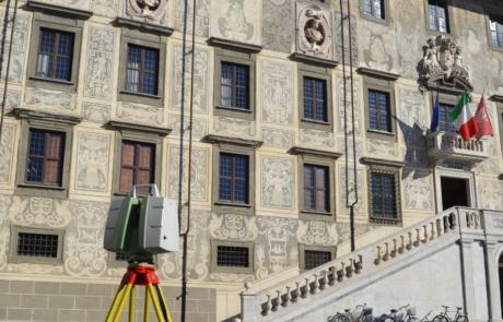 Rilievo Laser scanner Biblioteca della scuola Normale superiore di Pisa