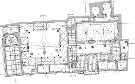 Rilievo Architettonico per il restauro Museo Archeologico al Teatro Romano, Verona