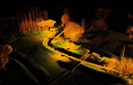 Rilievo Territoriale con Laser scanner delle sponde fiume Almone, Roma