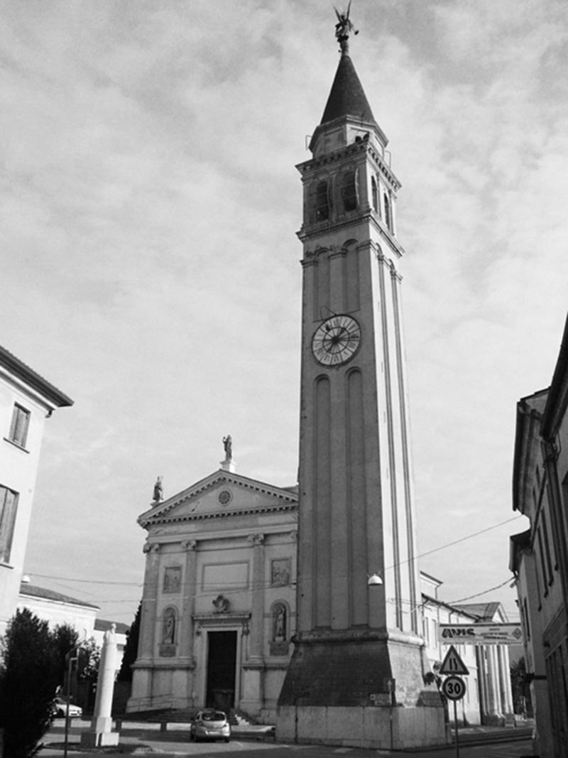 bell tower in san martino di lupari padova ianus On arte arredo san martino di lupari