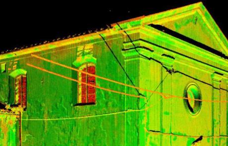 Rilievo laser scanner Lucca
