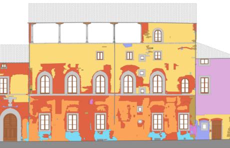Edifici in piazza dell'Ospedale, Prato