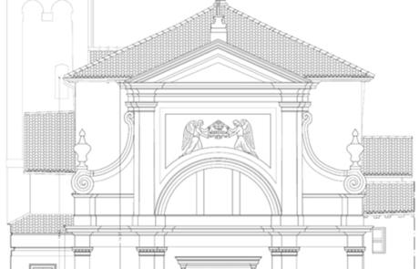 Rilievo Architettonico beni culturali Chiesa di San Carlo Borromeo, Verona
