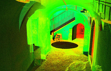 Rilievo Laser scanner Aggregato numero 8, Castel di Ieri (AQ)