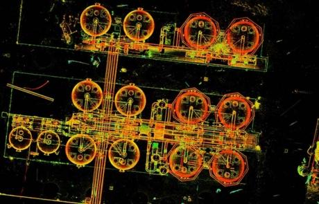 Petrignano rilievo laser scanner impianto industriale
