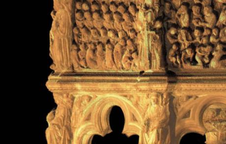 Pulpito di Nicola Pisano in Duomo, Siena (SI)