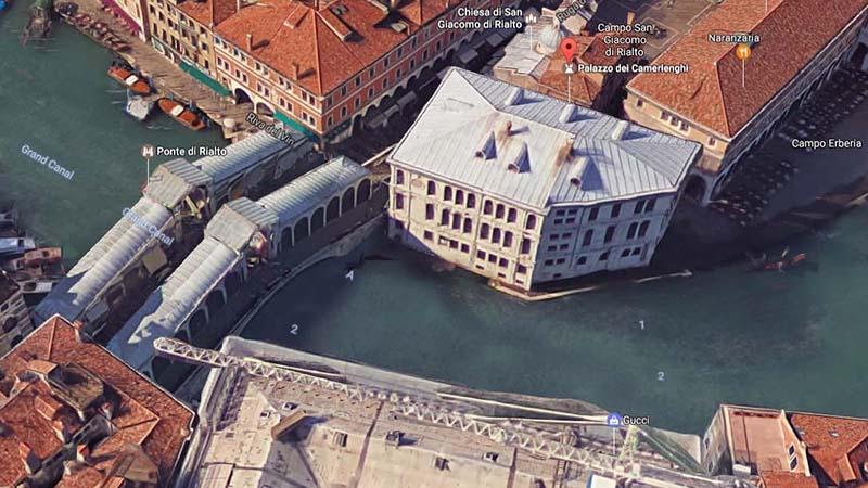 Palazzo dei Camerlenghi, Venezia