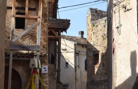 rilievo Laser scanner ricostruzione post-sisma