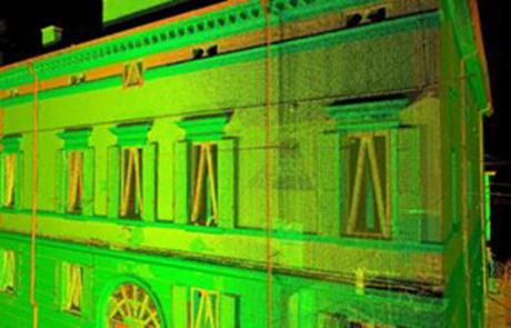 Rilievo laser scanner Emilia Romagna, Italia