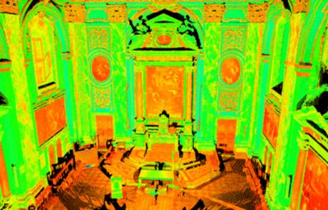 Rilievo Laser scanner Chiesa di San Matteo, Pisa