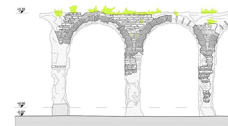 Acquedotto romano di Caldaccoli, San Giuliano T. (PI)