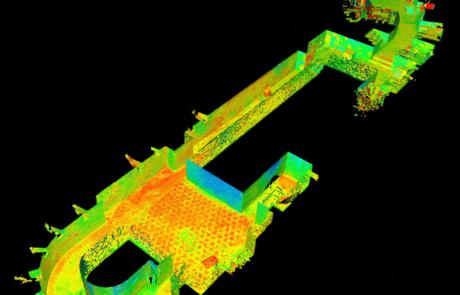 Rilievo Laser scanner Bastione San Giorgio, Verona