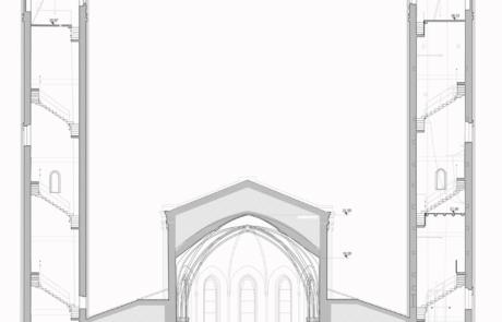 Rilievo architettonico Tempio Ossario, Bassano del Grappa (VI)