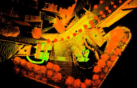 Rilievo Laser scanner Mura di Lucca